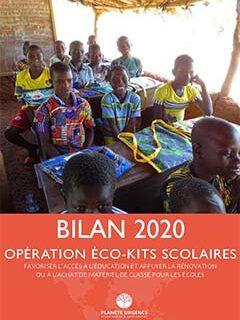 Bilan de l'opération des Eco-kits Scolaires 2020