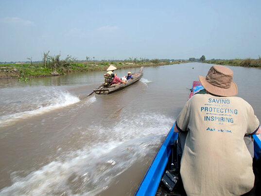 Planète Urgence accueille sonnouveau partenaire au Cambodge: Wildfowls and Wetlands Trust (WWT)