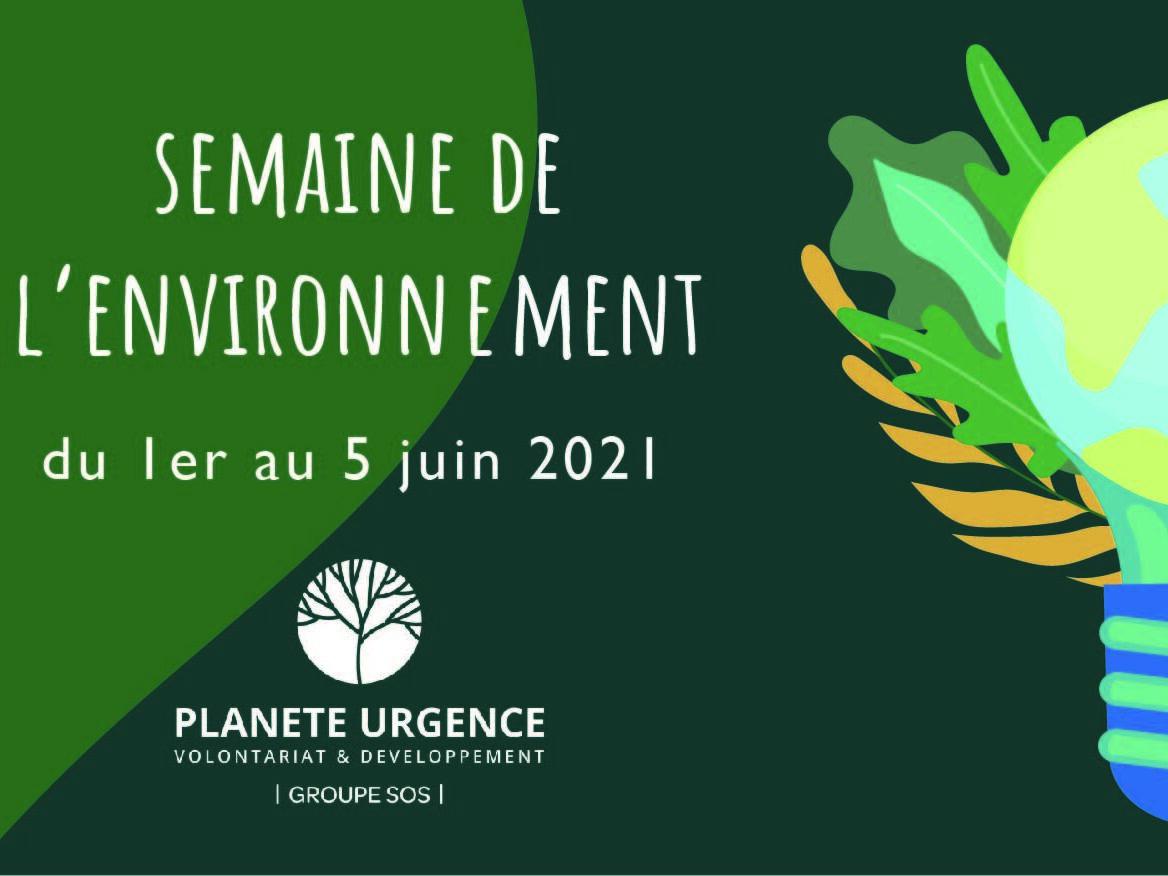 Planète Urgence célèbre la journée mondiale de l'environnement