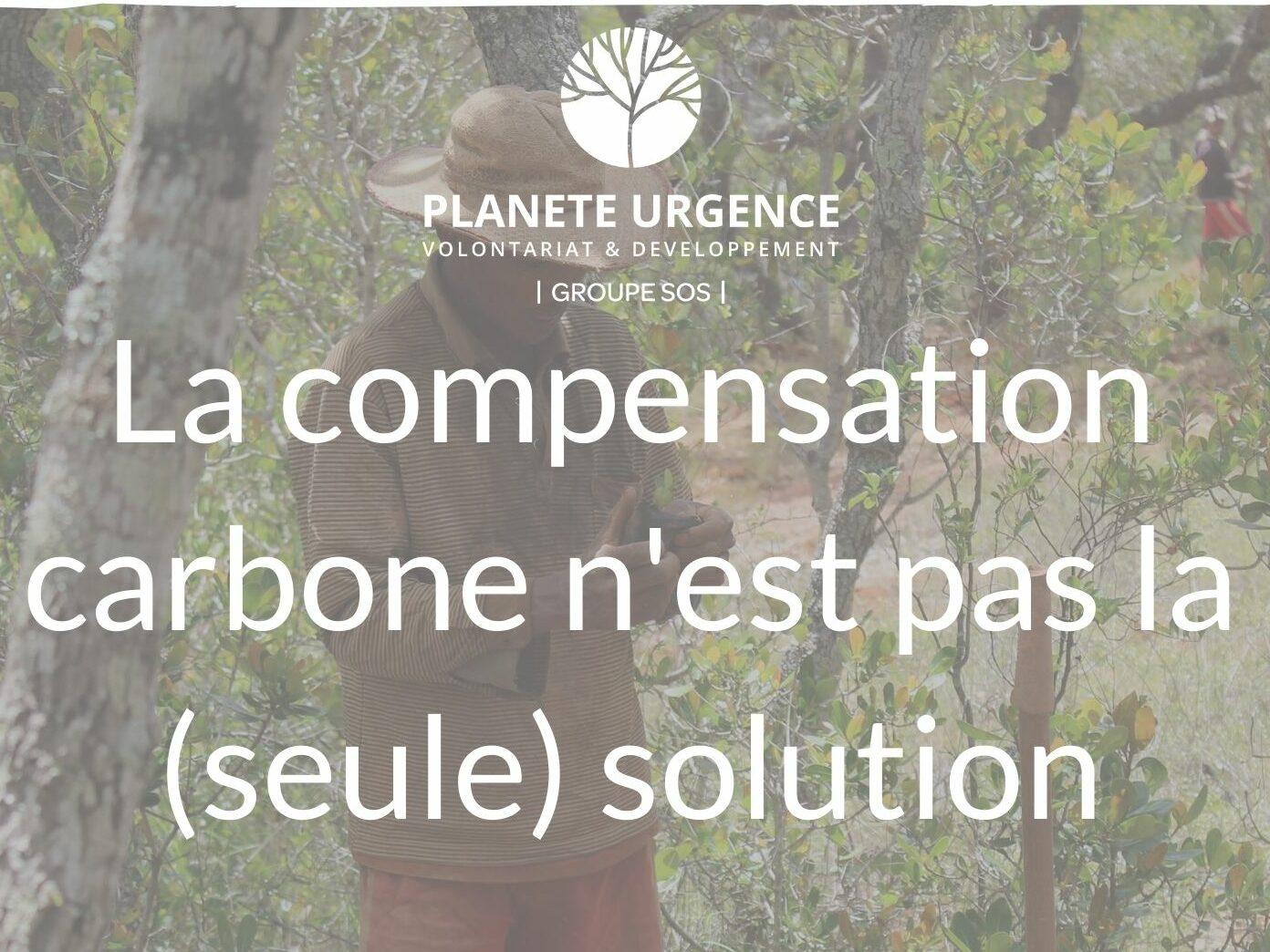 Financement climat : la compensation carbone n'est pas la (seule) solution